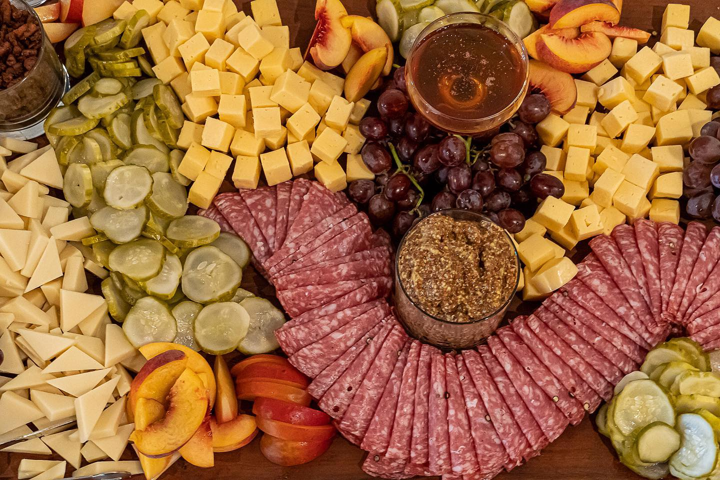 Chef inspired charcuterie
